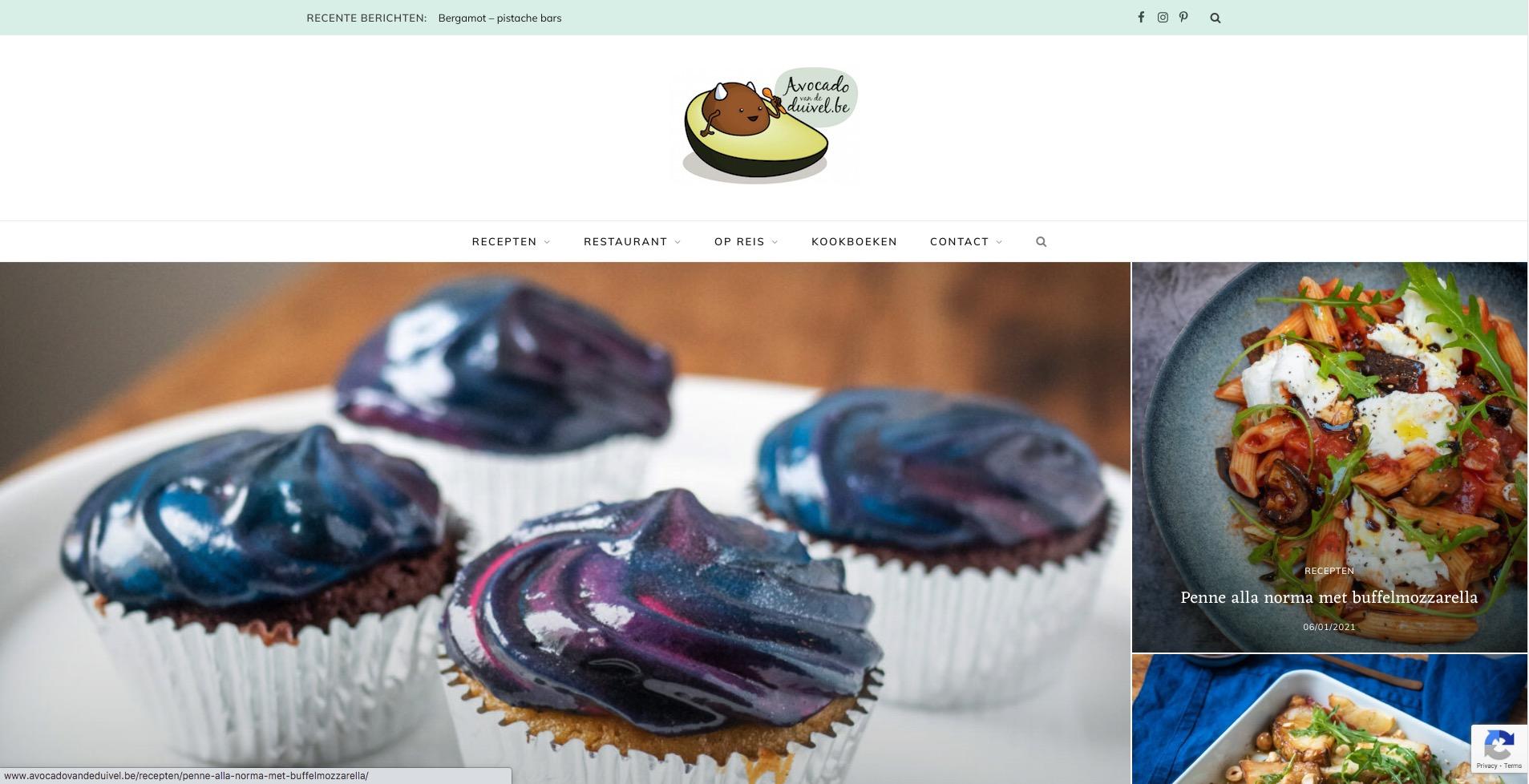 Avocado van de Duivel Homepage